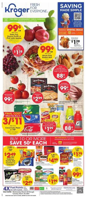 kroger weekly ad mar 24 2021