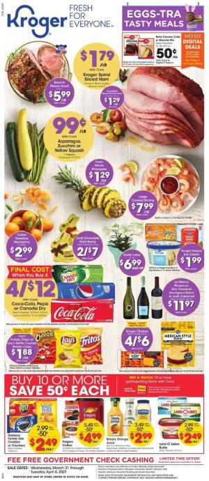 kroger weekly ad mar 31 2021