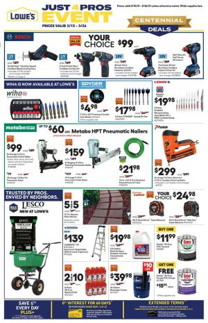 lowes ad pro mar 15 2021