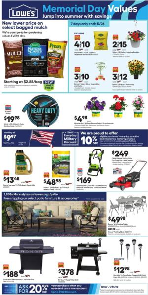 lowes weekly ad may 20 2021