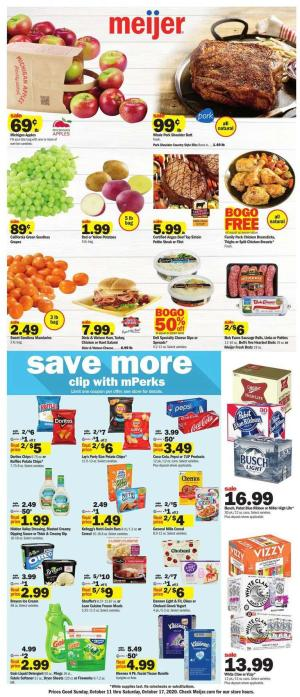 meijer weekly ad oct 11 2020