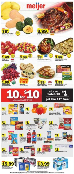 meijer weekly ad sep 20 2020