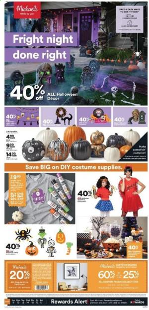 michaels weekly ad oct 11 2020