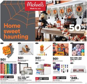 michaels weekly ad oct 17 23 2021