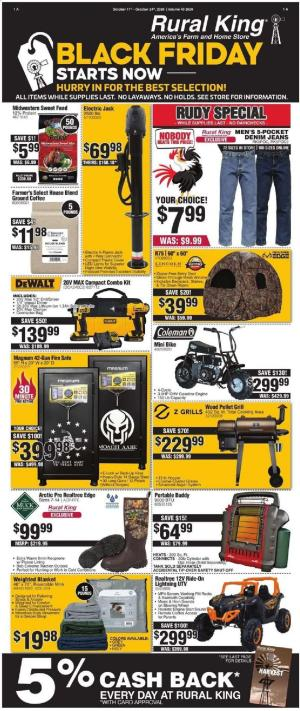 rural king ad oct 11 24 2020 black friday