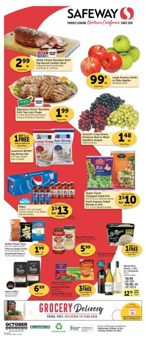 safeway weekly ad oct 14 2020