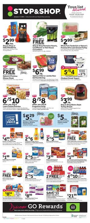 stop and shop weekly ad jan 1 2021