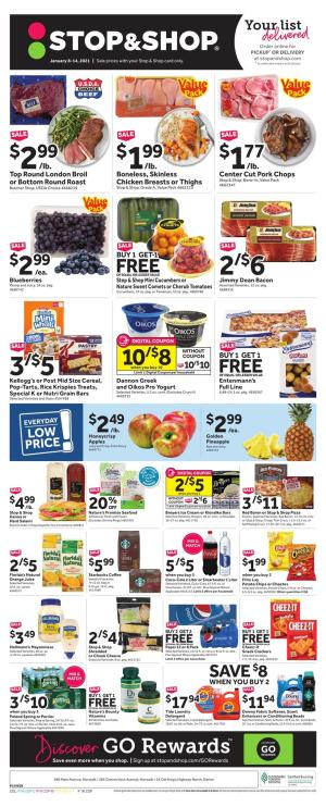 stop and shop weekly ad jan 15 2021