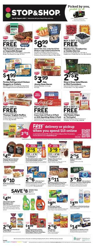 stop and shop weekly ad jul 30 2021