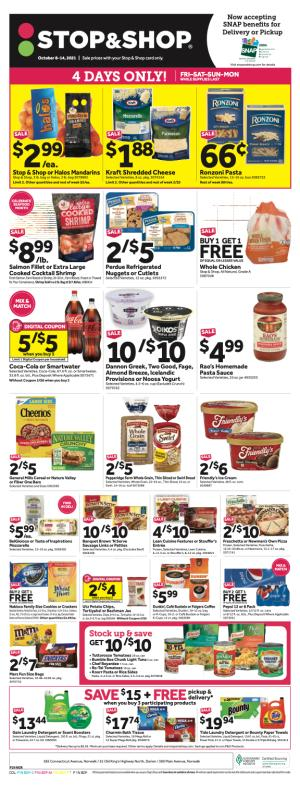 stop and shop weekly ad oct 8 2021
