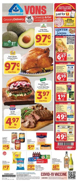 vons weekly ad feb 17 2021