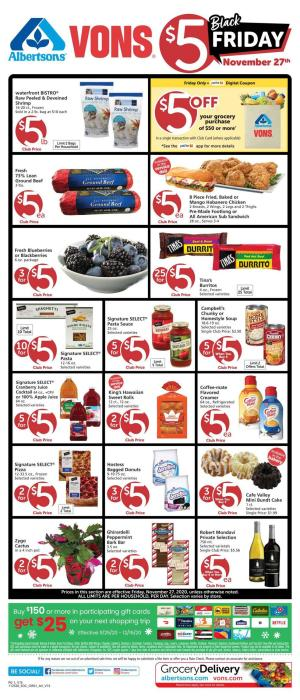 vons weekly ad nov 27 2020