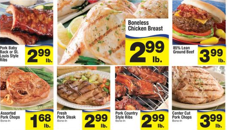 Albertsons Ad Buy One Get Two Free