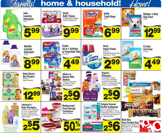 Albertsons ad home and household products