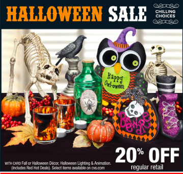 cvs weekly ad halloween sale