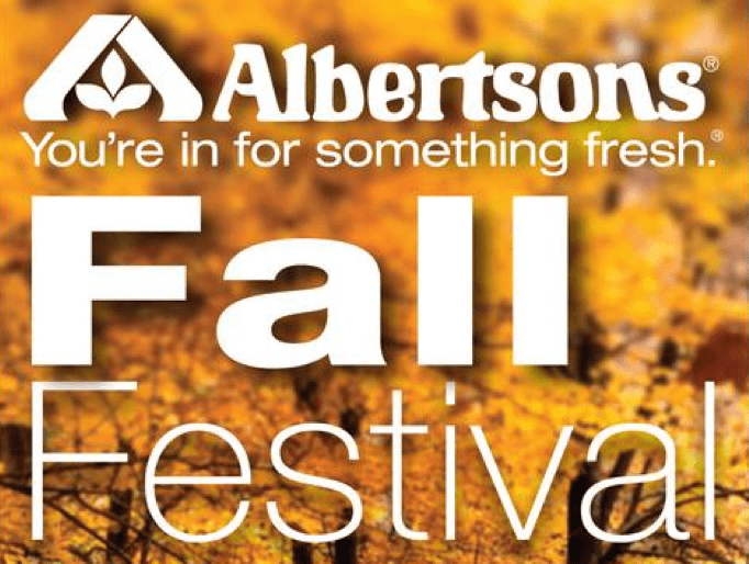 albertsons ad fall festival