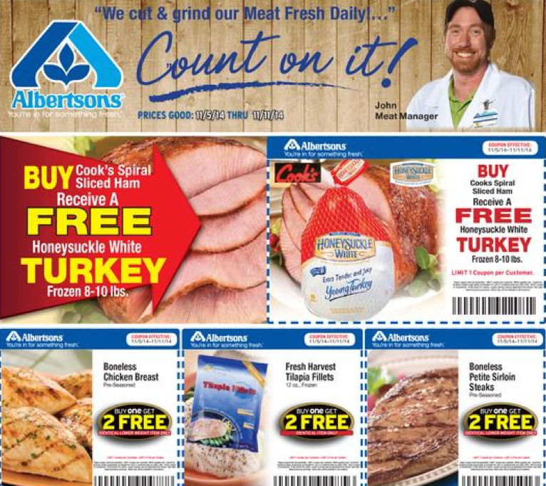 Albertsons Supermarkets Weekly Ad Specials