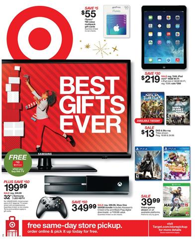 Target Weekly Ads Gifts Christmas