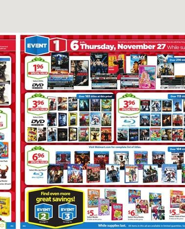 Walmart Weekly Ads Christmas Specials