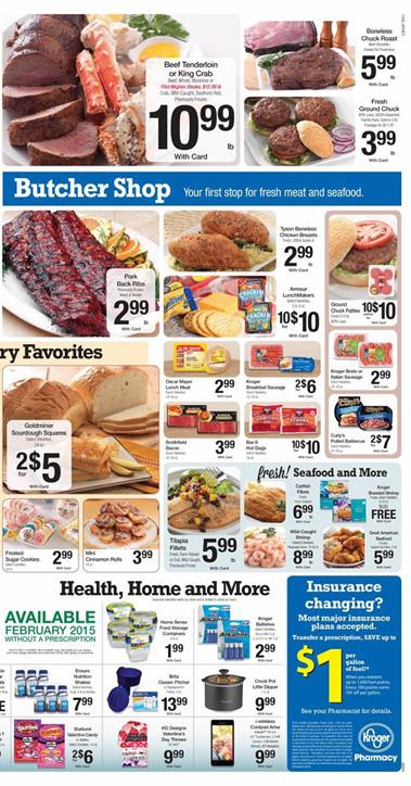 Kroger Weekly Ad Products Foods