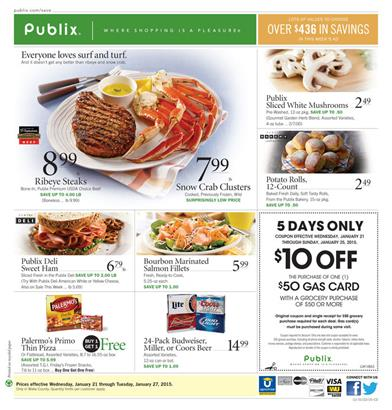 Publix Ad Preview 1-21 Fresh Food January 2015