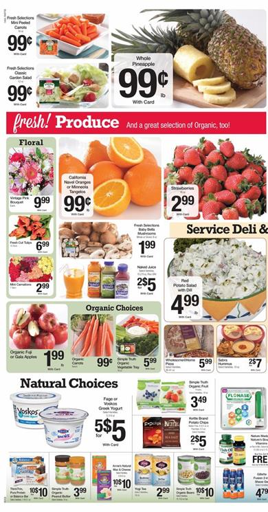 Fresh Food Organic Products Ralphs Weekly Ad February 2015