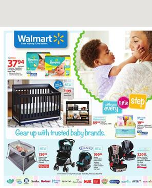 Baby Products Walmart Ad March 2015