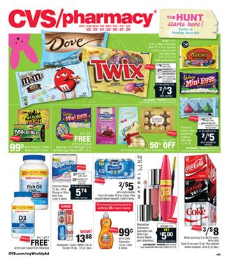 CVS Weekly Ad 3-22 Pharmacy and Supermarket