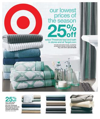 Target Ad March Home Sale and Entertainment 2015