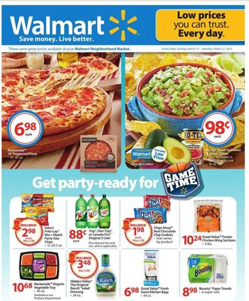 Walmart Ad Easter and Beauty Products M