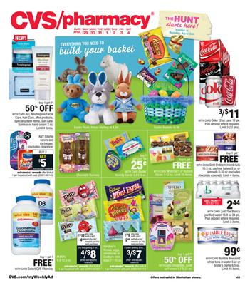 CVS Easter Ad April 2015 With Gifts and Chocolates