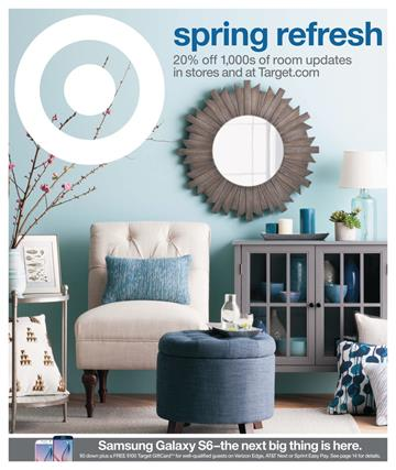 Target Weekly Ad Preview Spring Home Sale