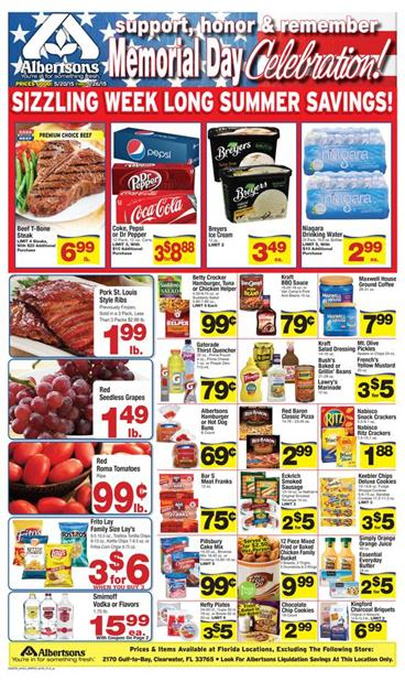 Albertsons Weekly Ad Coupons 5 20 2015
