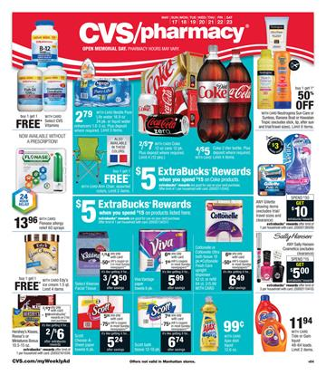 CVS Ad Preview 17 May 2015 Food and Pharmacy