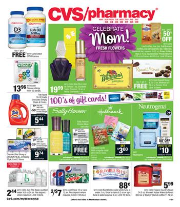 CVS Weekly Ad Mothers Day Gifts 3 May 2015