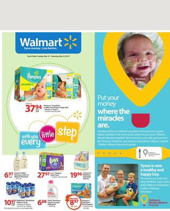 Walmart Baby Products Weekly Ad 10 May 2015