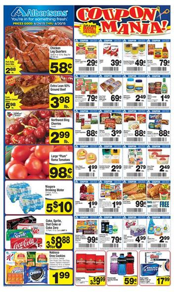 Albertsons Ad Preview 6 24 2015 Coupons