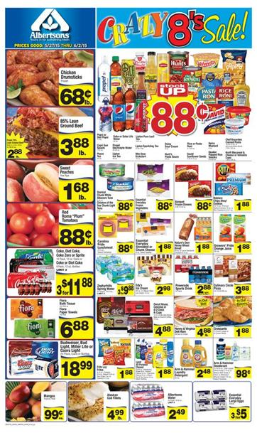 Albertsons Weekly Ad May 27 2015 Deals