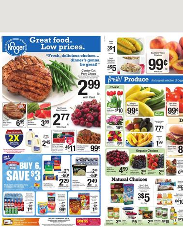 Kroger Weekly Ad Products June 24 2015