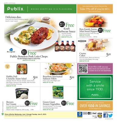 Publix Ad Preview June 3 2015