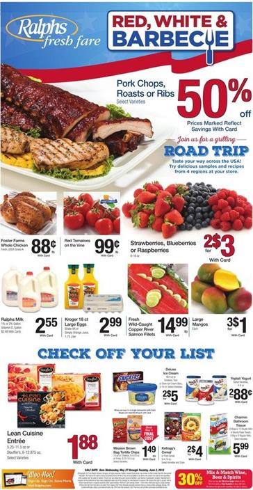 Ralphs Weekly Ad Preview 5 27 2015