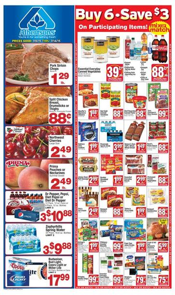 Albertsons Weekly Ad July 8 - July 14 2015