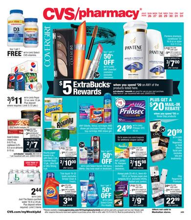 CVS Weekly Ad Jul 26 - Aug 01 Pharmacy and Beauty Products 2015