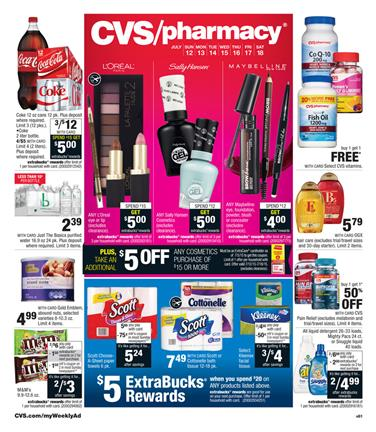 CVS Weekly Ad July 12 - July 18 2015