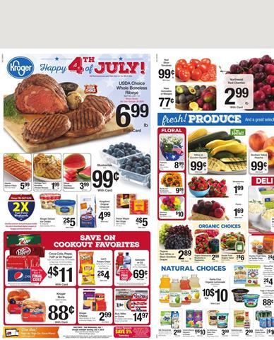 Kroger Weekly Ad Preview June 1 2015 June 7 2015