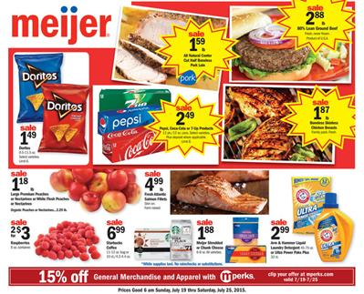 Meijer Weekly Ad Preview 7 19 2015