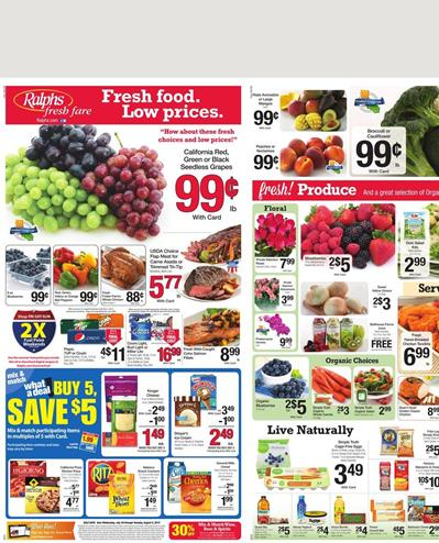 Ralphs Weekly Ad Jul 29 - Aug 04 Fresh Products