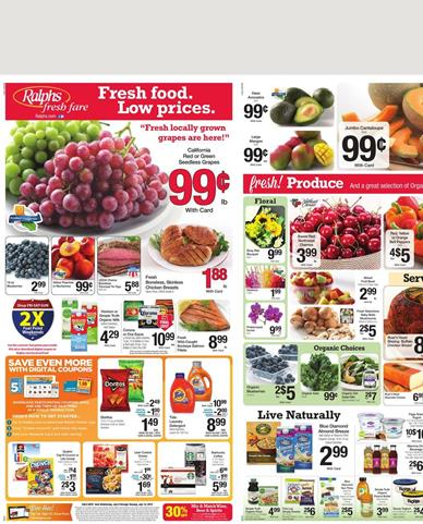 Ralphs Weekly Ad Products July 8 - July 14 2015
