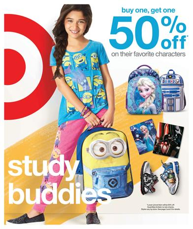 Target Weekly Ad Preview 7 26 School and Home 2015