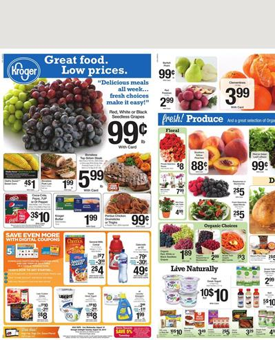Kroger Weekly Ad Preview Aug 19 - Aug 25 2015